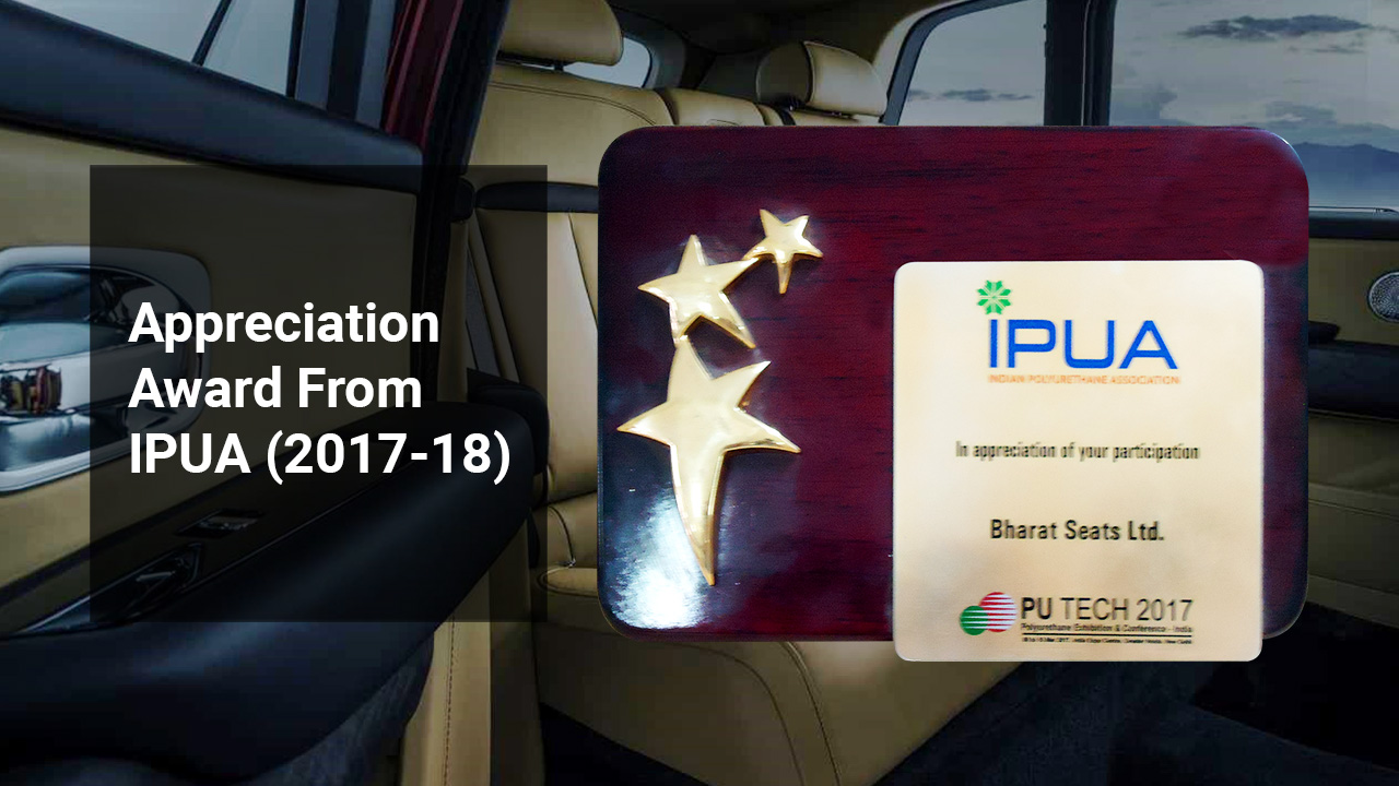 Appreciation Award From IPUA (2017-18)